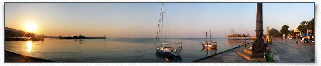 Пляж Ай-Даниль. Веб-камера санатория
